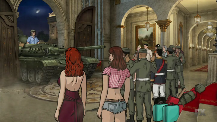 Archer.s05e11-ISIS-gets-a-tank-Cyril-drives