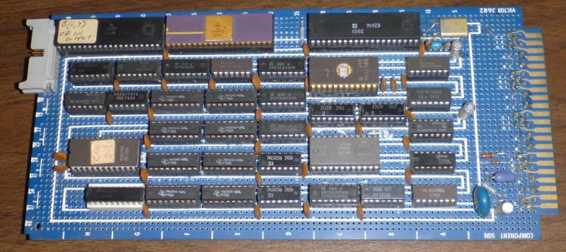 Old-crt-terminal-board