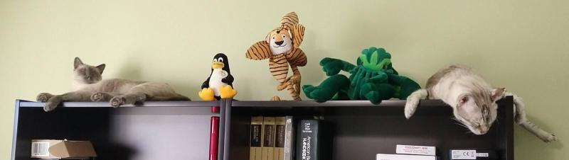 Bookcase guardians 2