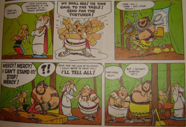 Asterix tortured