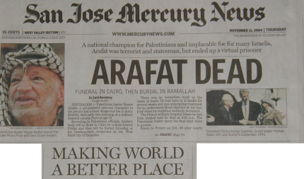 Arafat Dead - Making the World a Better Place