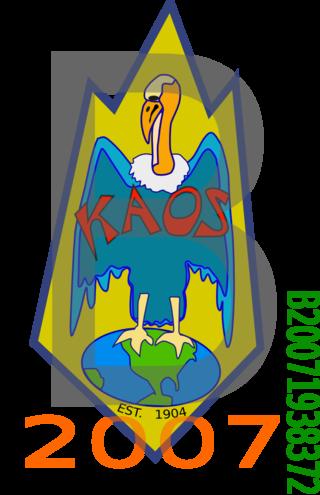 KAOS parking permit